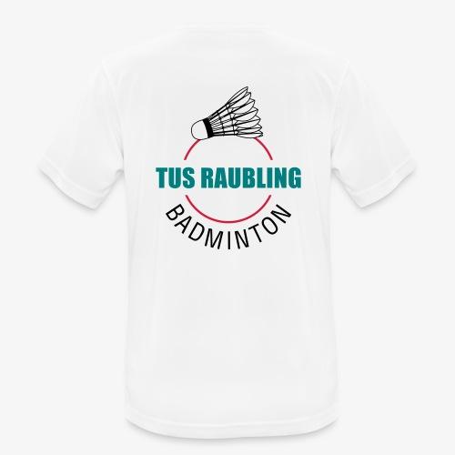 TuS Raubling Badminton Trikot Rückseite - Männer T-Shirt atmungsaktiv