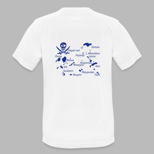 Crewshirt Motiv Griechenland - Männer T-Shirt atmungsaktiv