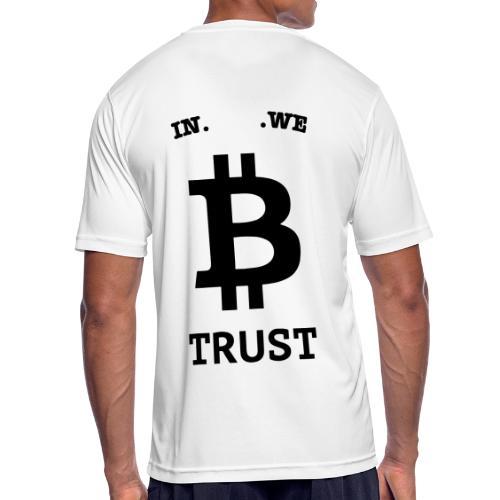 BITCOIN langwerpig - Mannen T-shirt ademend actief