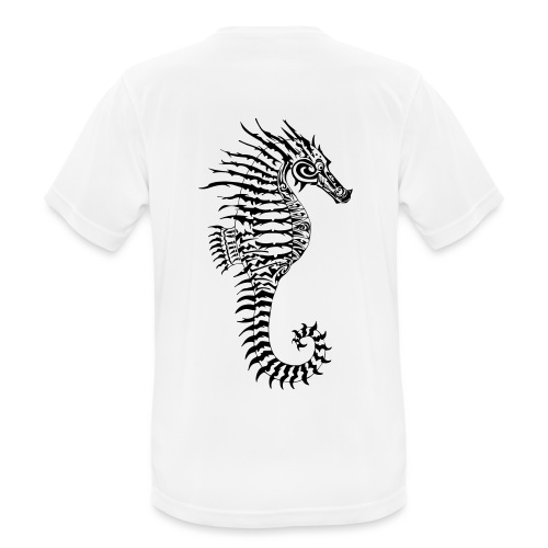 Alien Seahorse Invasion - Men's Breathable T-Shirt