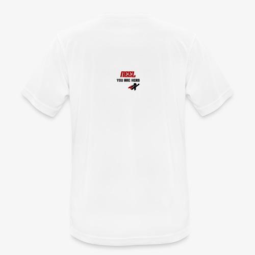 NEEL You Are Hero - Koszulka męska oddychająca
