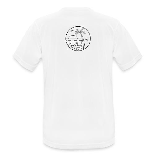 summer vibes - Camiseta hombre transpirable