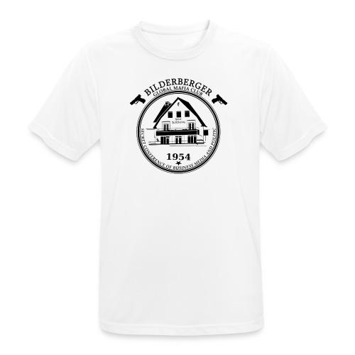 Bilderberg Logo - Männer T-Shirt atmungsaktiv