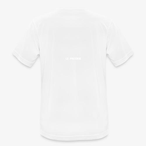 Subtiel_Wit - Mannen T-shirt ademend actief