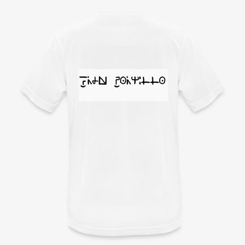 Fran Portillo (runas Alrlok) - Camiseta hombre transpirable