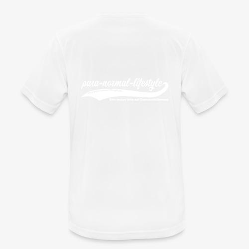 PNL Querschnittlähmung hinten (Aufdruck weiß) - Männer T-Shirt atmungsaktiv
