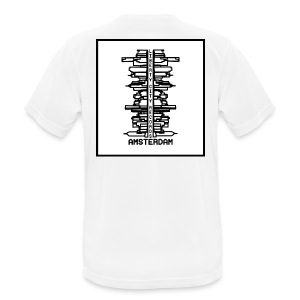 liberty city records amsterdam 1 - mannen T-shirt ademend