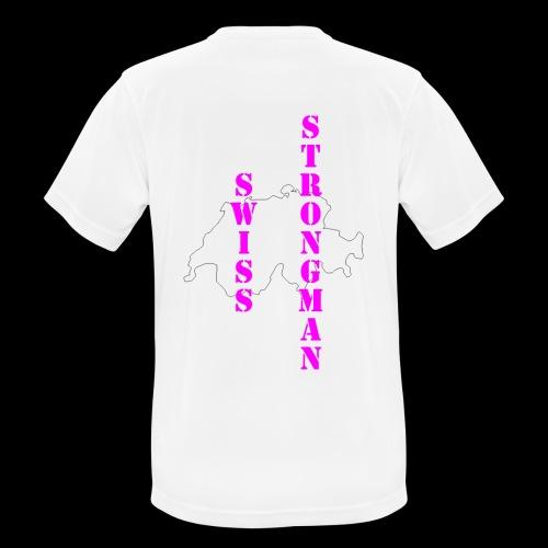 Swiss FSA T Shirt Swiss Strongman 1 - Männer T-Shirt atmungsaktiv