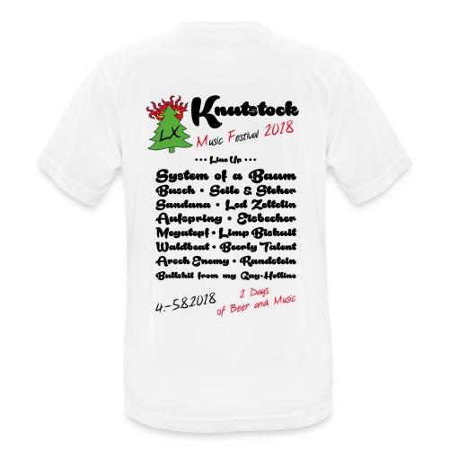 Knutstock LineUp2 - Männer T-Shirt atmungsaktiv