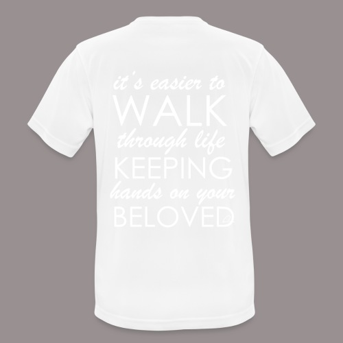 Rakkaus - miesten tekninen t-paita