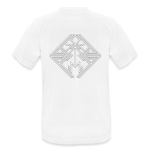 JDW-Designs Logo - Mannen T-shirt ademend actief