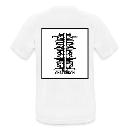 liberty city records amsterdam 1 - Mannen T-shirt ademend actief