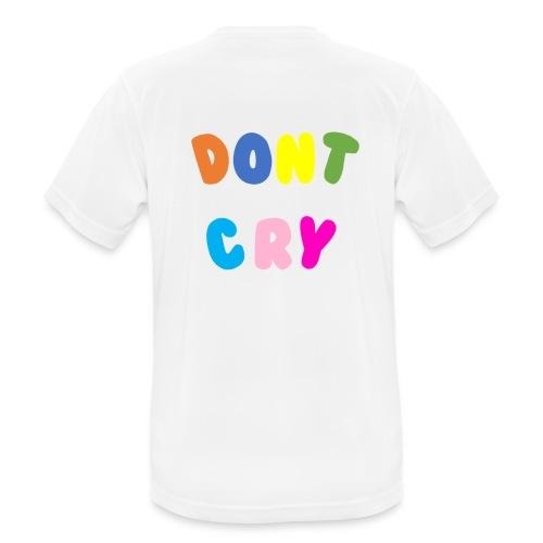 dont cry multicolor - Herre T-shirt svedtransporterende