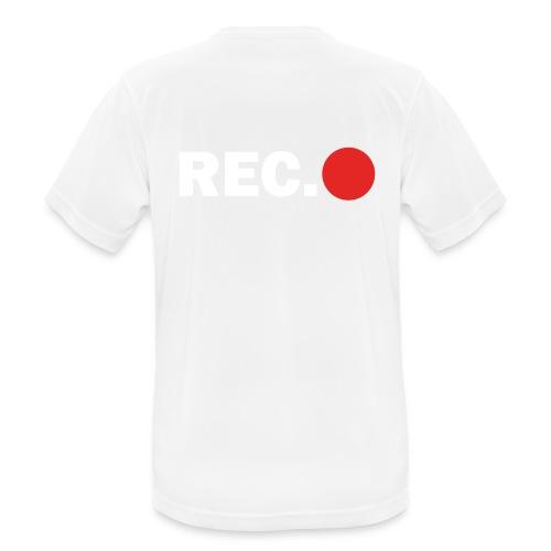 Cameraman Cap - Mannen T-shirt ademend actief