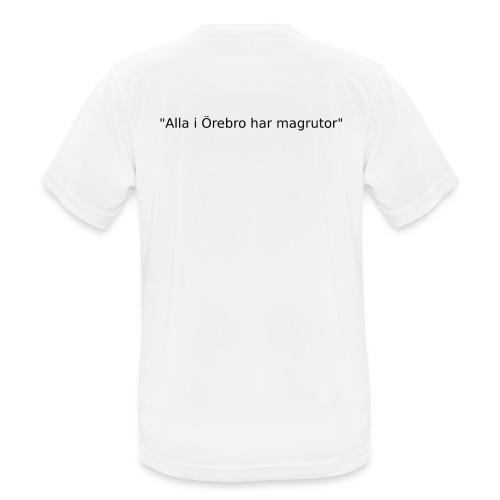 Ju jutsu kai förslag 2 version 1 svart text - Andningsaktiv T-shirt herr