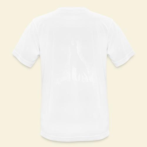 Dog Silhouette - Männer T-Shirt atmungsaktiv