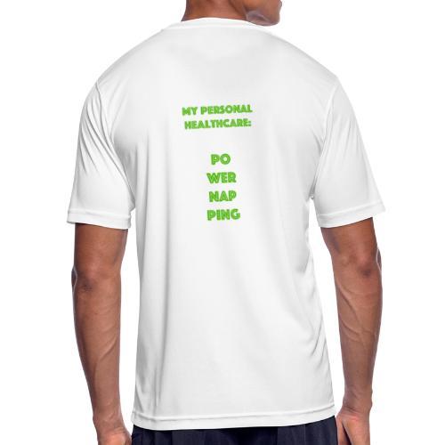 Powernapping - Männer T-Shirt atmungsaktiv