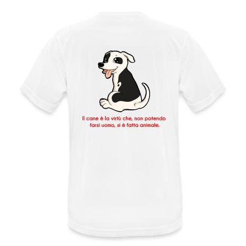 Aforisma cinofilo - Maglietta da uomo traspirante