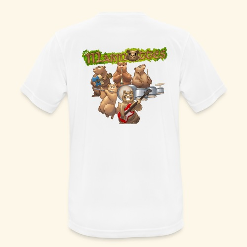 Tshirt groupe complet (dos) - T-shirt respirant Homme