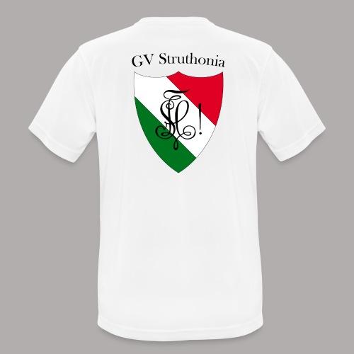 Wappen Struthonia beschriftet - Männer T-Shirt atmungsaktiv