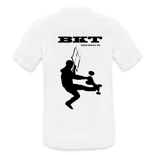 logo dos - T-shirt respirant Homme
