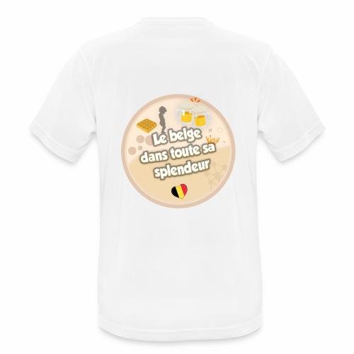 logo Le belge - T-shirt respirant Homme