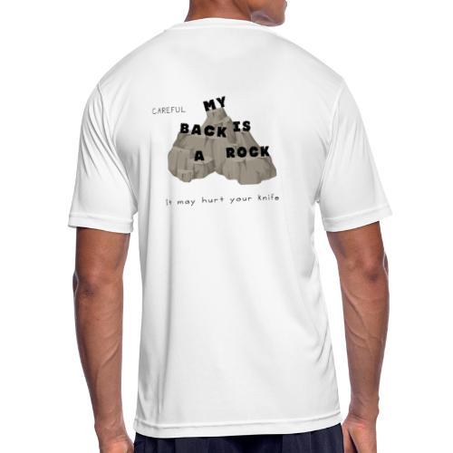 Back rock - Männer T-Shirt atmungsaktiv