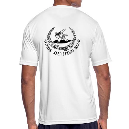 logo bagpå - Herre T-shirt svedtransporterende