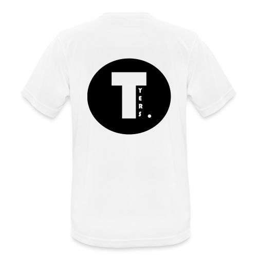 T by Tyers Logo au dos - T-shirt respirant Homme