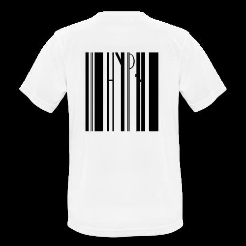 Barcode tee transparent - Männer T-Shirt atmungsaktiv