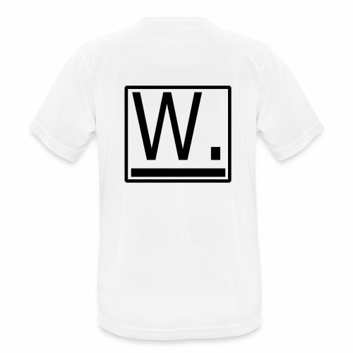 W. - Mannen T-shirt ademend actief
