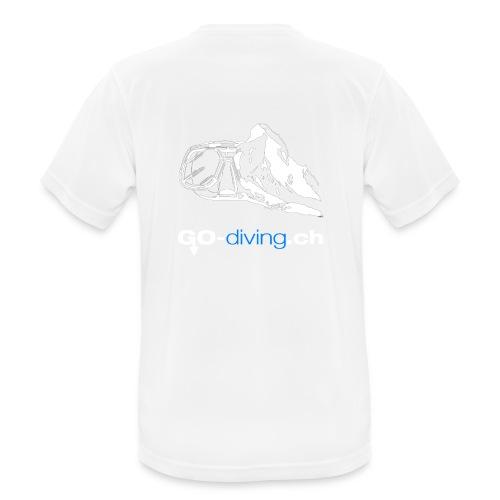Go Diving - T-shirt respirant Homme