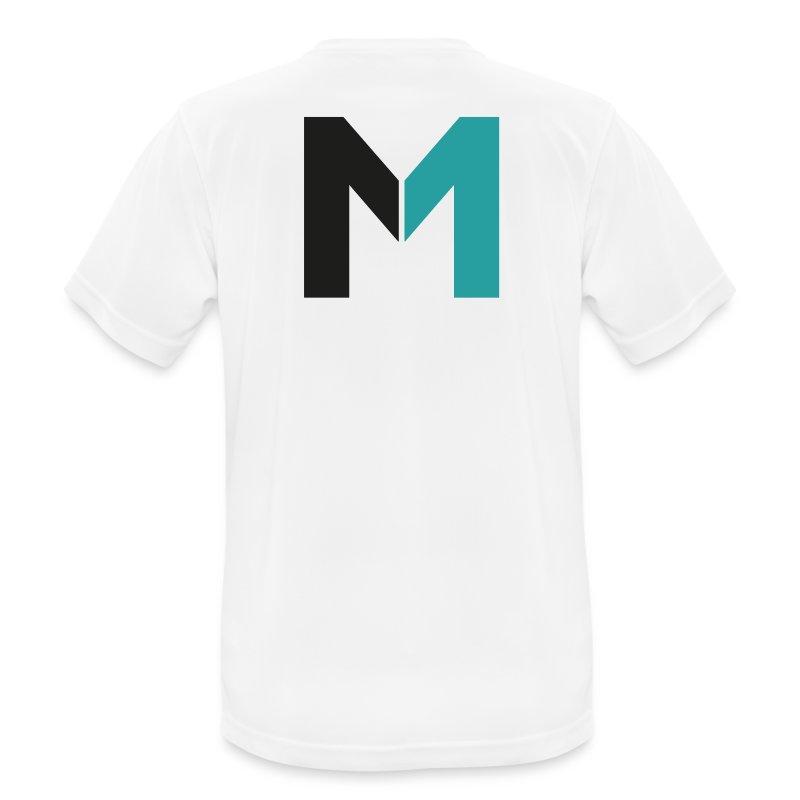 Logo M - Männer T-Shirt atmungsaktiv