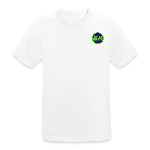 SkyHyperion Classic Colours - White - Men's Breathable T-Shirt