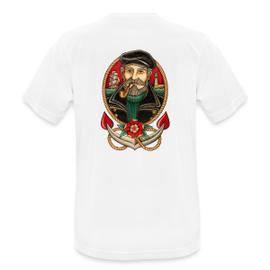 SEA CAPTAIN TATTOO - Men's Breathable T-Shirt