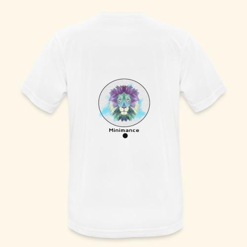 GEOMETRIC LION - T-shirt respirant Homme