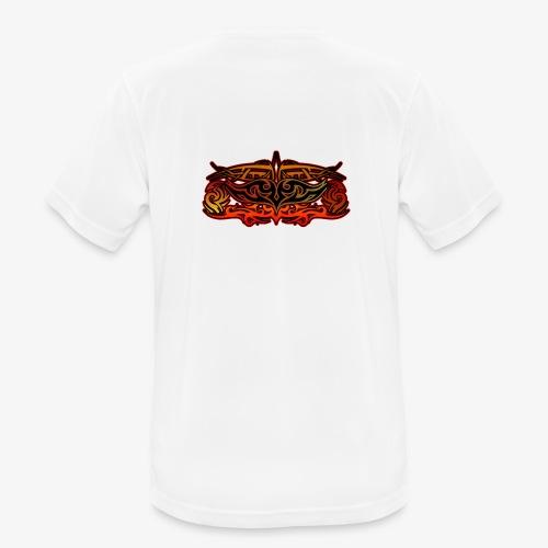 Maglia con tribale - Maglietta da uomo traspirante