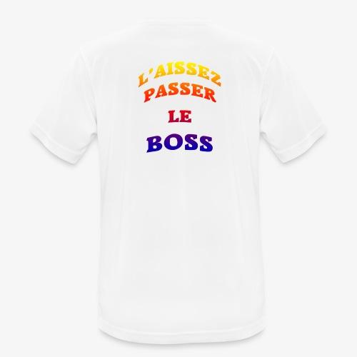 Le Boss - T-shirt respirant Homme