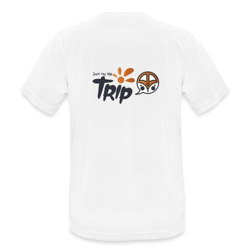 Logo pour fond sombre - T-shirt respirant Homme