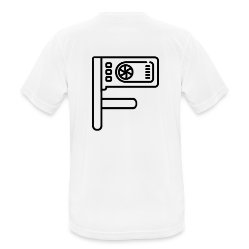 Logo Floewtech - Men's Breathable T-Shirt
