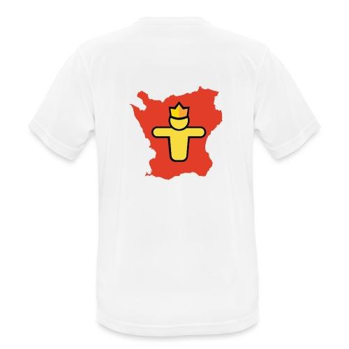 Turf Skåne symbol - Andningsaktiv T-shirt herr
