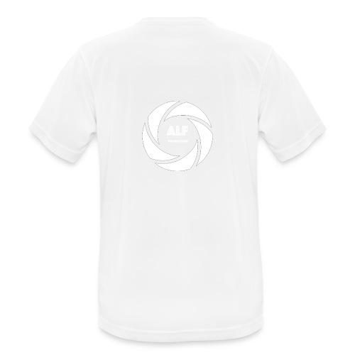 Logo Bianco - Maglietta da uomo traspirante