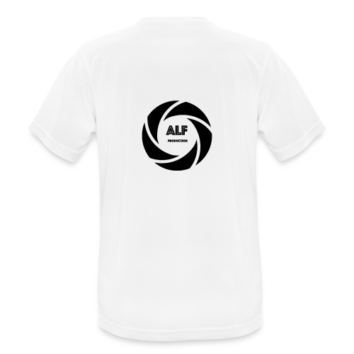 Logo Nero - Maglietta da uomo traspirante