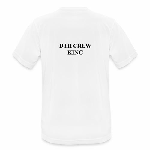 Das King Logo - Männer T-Shirt atmungsaktiv
