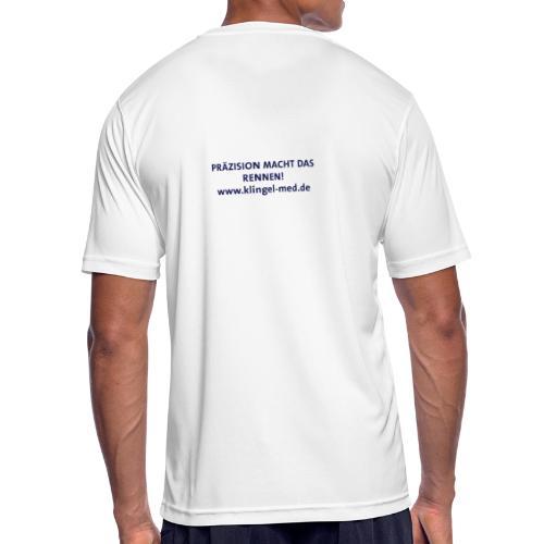 Slogan Laufshirt - Männer T-Shirt atmungsaktiv