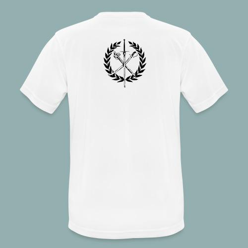 SNF Logo, helle Backgr. - Männer T-Shirt atmungsaktiv
