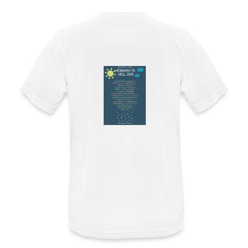 Heimweh to Hell 2018 jpg wisch - Männer T-Shirt atmungsaktiv