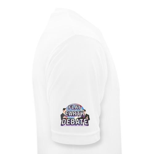 Flat Earth Debate - Men's Breathable T-Shirt