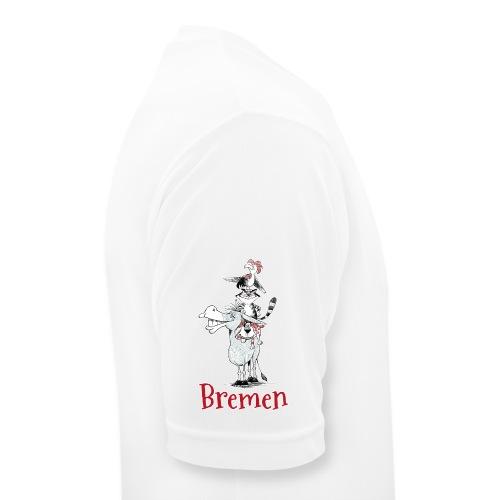 Bremer Stadtmusikanten - Männer T-Shirt atmungsaktiv