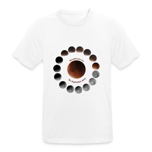 Mondfinsternis 2015 - Männer T-Shirt atmungsaktiv